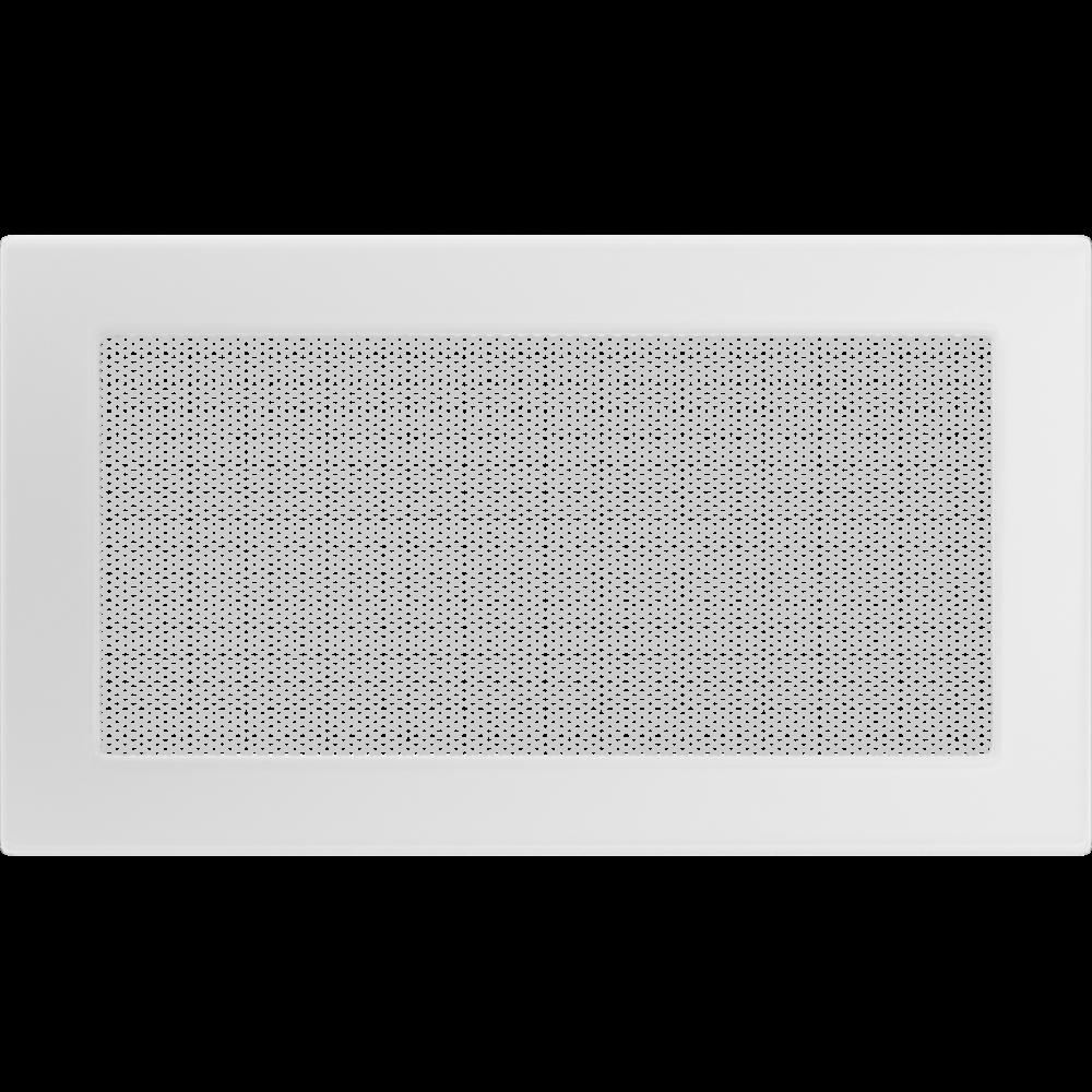 Вентиляционная решетка для камина KRATKI 17х30 белая