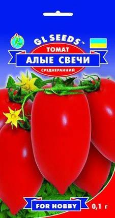 Томат Червоні свічки, пакет 0.1 г - Насіння томатів, фото 2