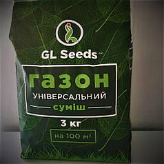Семена Газона Универсальный GL Seeds, мешок 3 кг