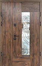 Двери уличные, модель Thermo Steel Premium 21-01, замки Kale(Турция), ковка внутри стеклопакета