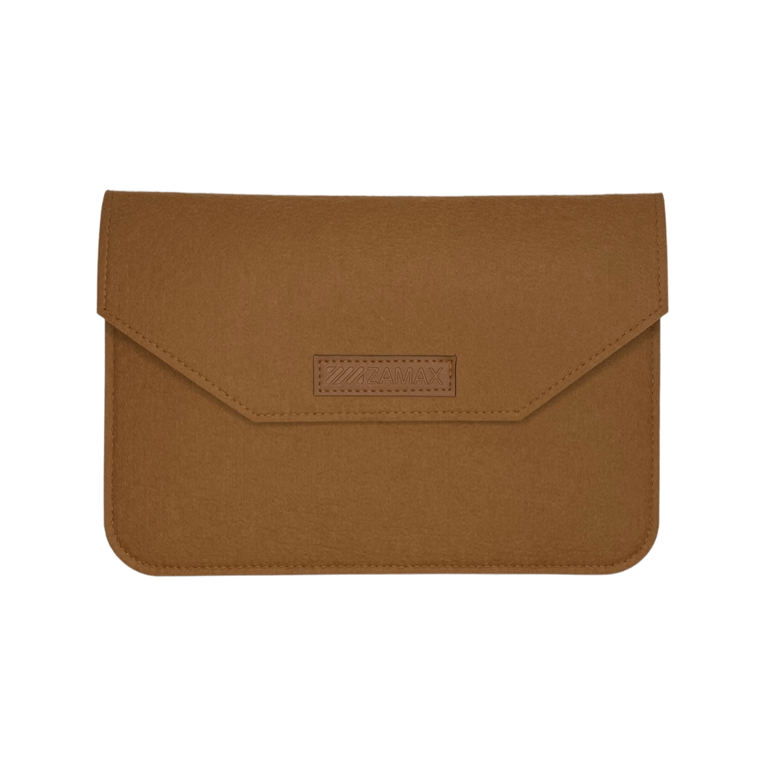 """Повстяний чохол конверт ZAMAX для MacBook Air і Pro 13.3"""" сумка папка з повсті на Макбук коричневий"""