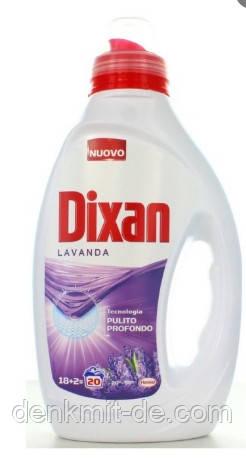 Гель для стирки Dixan Lavanda 20 cтирок 1 л  Италия