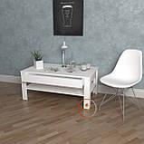 Столик журнальний, кавовий столик c шухлядою з ДСП. КОД:S-5, фото 5
