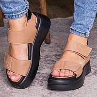 Женские сандалии Fashion Cheyenne 3060 36 размер 23,5 см Бежевый