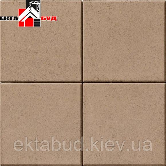 Тротуарная плитка БРУСЧАТКА 400х400 60мм Малибу
