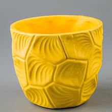 Керамічний вазон (11*11*10 см)