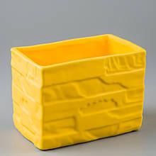 Керамічний вазон (14*9*10 см)