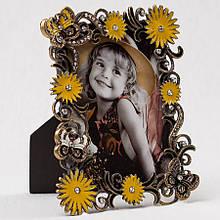 "Фоторамка ""Метелики в квітах"" (12*15 см, ф - 9*13 см)"