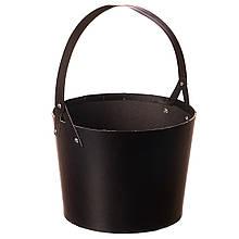 """Коробка для квітів """"Елегантність"""" (чорний колір) 1шт."""