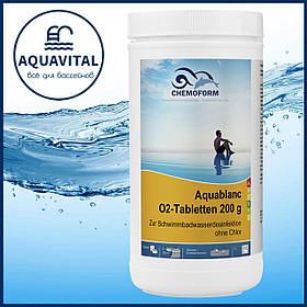 Chemoform Aquablanc O2-Tabletten 200 g   Кислород в таблетках по 200 гр (банка 1 кг)
