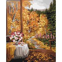 """Картина за номерами """"Чарівний запах осені"""" KHO2242"""