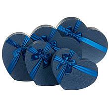 "Набор коробок ""Мгновение"" 5 шт, синий"