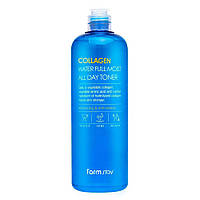 Антивіковий зволожуючий тонер з колагеном Collagen Water Full Moist All Day Toner, 500мл