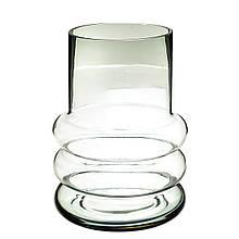 """Скляна ваза """"Тінь на піску"""" 20 см"""