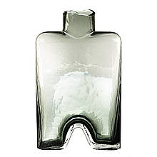 "Стеклянная ваза ""Горная геометрия"""