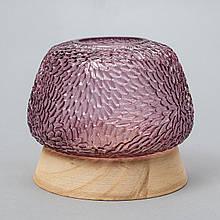 "Стеклянная ваза ""Очаг"", 14 см."