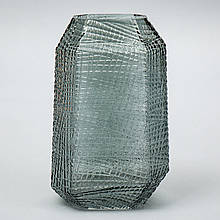 """Стеклянная ваза """"Утес"""", 29 см."""