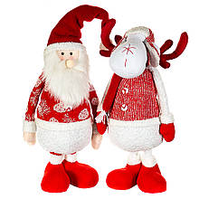 """Фигура (2 вида) """"Санта и олень"""""""
