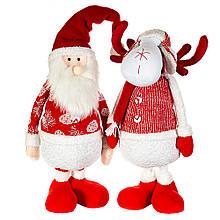 """Фігура (2 види) """"Санта і олень"""""""