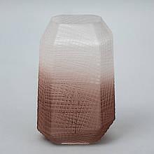 "Стеклянная ваза ""Берег"", 29 см."