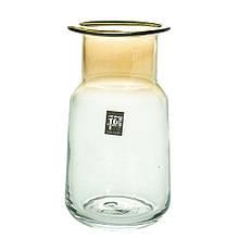 """Стеклянная ваза """"Кензо"""", 20 см."""