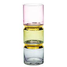 "Стеклянная ваза ""Чакры"", 30 см."
