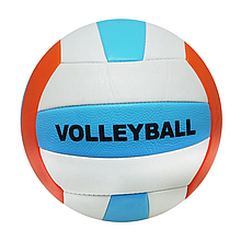 Мяч волейбольный BT-VB-0020 PVC разноцветный (Бирюзово-оранжевый)