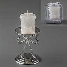 Весільна свічка (6 см) (колір кремовий, білий)