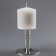 Весільна свічка (8 см) (колір кремовий, білий)