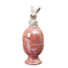 Подставка под яйцо Пасхальный кролик 6*6*16 см