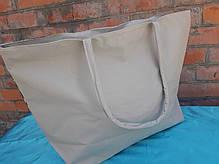 """Пляжна сумка жіноча велика літня з гарним принтом """"Морський пляж"""" 55*36 см П-1437, фото 2"""
