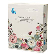 """Фотоальбом """"Flower"""", 40 фото 10 * 15"""