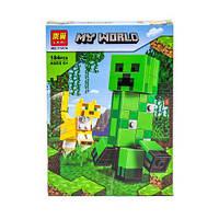 Конструктор Minecraft Bela 11474 Крипер и Оцелот