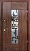 Двери уличные, модель Thermo Steel  Premium 21-04, замки Kale(Турция), ковка внутри стеклопакета