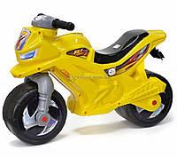 Мотоцикл 2-х колісний з сигналом (лимонний), арт. 501в.3 ЛИМ, Орион