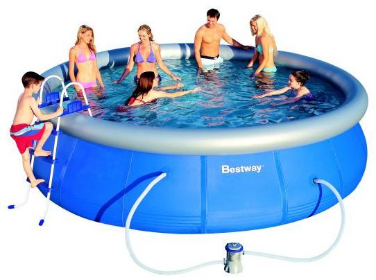 Надувной бассейн BestWay 57212 (549x122 см)