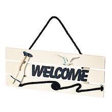 "Подвесной декор ""Welcome"""