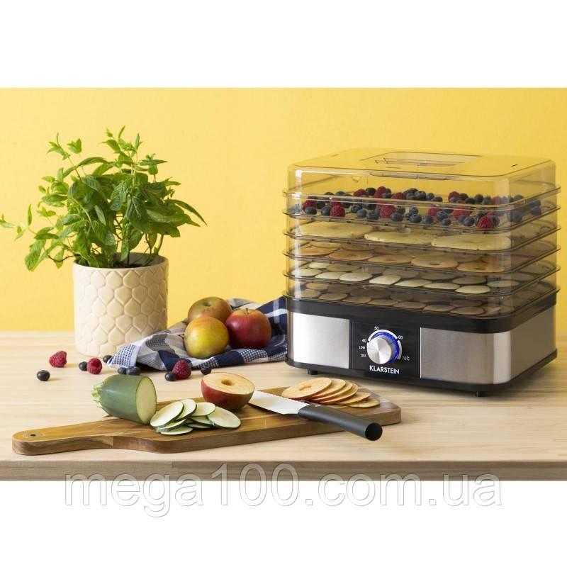 Дегидратор, сушарка для овочів, фруктів, ягід і грибів Klarstein нова але є нюанс