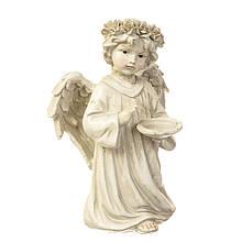 Ангел світиться зі свічкою 15.5*13*23.5