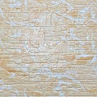 3д панели Бежевый кирпич Рваный ПВХ самоклейка 3d панели для стен кладка текстура Мрамор 700x700x5мм