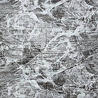 3д панели Серый кирпич Мрамор ПВХ самоклейка 3d панели для стен кладка текстура под камень 700x700x5мм