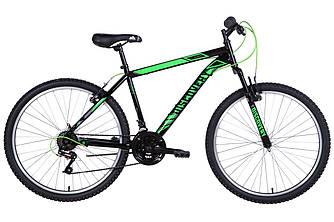 """Велосипед 26"""" DISCOVERY RIDER AM 2021 (черно-зеленый 18"""")"""