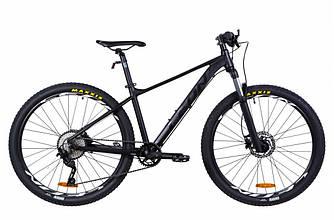 """Велосипед AL 27.5"""" LEON XC-60 AM с лок. HDD рама-20"""" черный (м) 2021"""