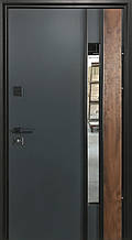 Двери уличные, модель Thermo Steel 21-10, 2 замка, стелопакет