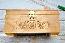 Скриня різьблена, з міддю 46, фото 2