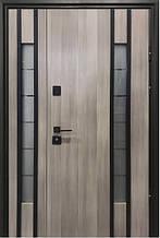 Двери уличные, модель Thermo Steel 21-20, 2 замка, стелопакет