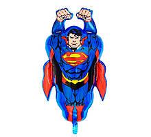 Фольгированный шар большая фигура Супермен 76х51см Китай