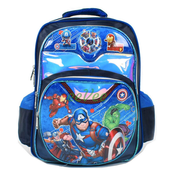 Рюкзак шкільний ранець для хлопчика 1 2 3 клас Синій (86661)