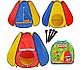 """Детская палатка М 0506, палатка для детей """"Пирамида"""" , 144 х 204 х 104 см, фото 2"""