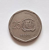 25 песо Домініканська республіка 2008 р., фото 1